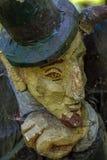 απομονωμένο διάνυσμα πορτρέτου s προσώπου διαβόλων δαιμόνων απεικόνιση Στοκ Εικόνες