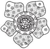 Απομονωμένο διάνυσμα στοιχείο λουλουδιών Rafflesia Στοκ Φωτογραφίες