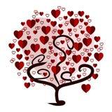 απομονωμένο διάφορο διάνυσμα δέντρων σημαδιών αντικειμένου αγάπης λογότυπων Στοκ φωτογραφία με δικαίωμα ελεύθερης χρήσης
