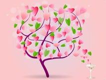 απομονωμένο διάφορο διάνυσμα δέντρων σημαδιών αντικειμένου αγάπης λογότυπων Στοκ εικόνες με δικαίωμα ελεύθερης χρήσης
