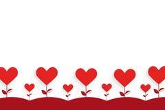απομονωμένο διάφορο διάνυσμα δέντρων σημαδιών αντικειμένου αγάπης λογότυπων Στοκ Φωτογραφία