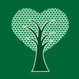 απομονωμένο διάφορο διάνυσμα δέντρων σημαδιών αντικειμένου αγάπης λογότυπων διανυσματική απεικόνιση