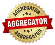 απομονωμένο διακριτικό aggregator γύρω από Διανυσματική απεικόνιση