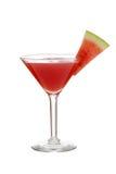 Απομονωμένο καρπούζι martini με τη φέτα Στοκ φωτογραφία με δικαίωμα ελεύθερης χρήσης