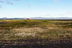 Απομονωμένο καταφύγιο στην Ισλανδία στοκ εικόνα με δικαίωμα ελεύθερης χρήσης
