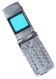 απομονωμένο κινητό τηλέφωνο στοκ φωτογραφία