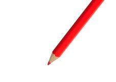 Απομονωμένο κόκκινο μολύβι Στοκ φωτογραφία με δικαίωμα ελεύθερης χρήσης