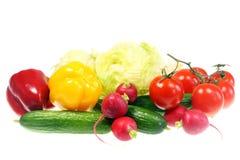 απομονωμένο λευκό λαχανικών στοκ εικόνα με δικαίωμα ελεύθερης χρήσης