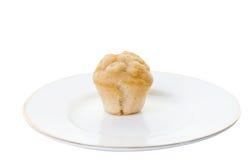 απομονωμένο μίνι muffin λευκό Στοκ Φωτογραφίες