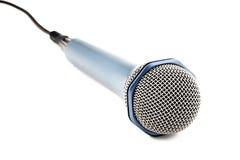 απομονωμένο μικρόφωνο Στοκ εικόνες με δικαίωμα ελεύθερης χρήσης