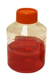 απομονωμένο μπουκάλι ερ&gam Στοκ εικόνα με δικαίωμα ελεύθερης χρήσης
