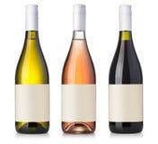 απομονωμένο μπουκάλι κρασί Στοκ εικόνες με δικαίωμα ελεύθερης χρήσης