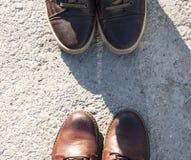 απομονωμένο μπότες λευκό Στοκ Εικόνες
