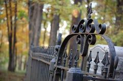 Απομονωμένο νεκροταφείο στοκ φωτογραφία