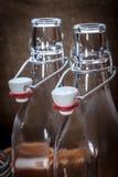 απομονωμένο ορυκτό λευκό ύδατος μονοπατιών ψαλιδίσματος μπουκαλιών γυαλί Στοκ Φωτογραφίες
