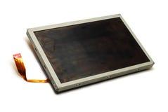 απομονωμένο παρουσίαση LCD Στοκ Φωτογραφίες