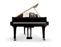 απομονωμένο πιάνο Στοκ εικόνες με δικαίωμα ελεύθερης χρήσης