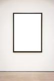 Απομονωμένο πορεία άσπρο διάνυσμα ψαλιδίσματος τοίχων πλαισίων μουσείων σύγχρονης τέχνης Στοκ φωτογραφίες με δικαίωμα ελεύθερης χρήσης
