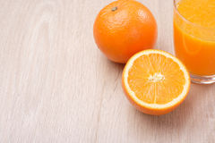 απομονωμένο πορτοκαλί λευκό χυμού στοκ εικόνα με δικαίωμα ελεύθερης χρήσης