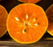 απομονωμένο πορτοκαλί λευκό χυμού Στοκ Φωτογραφία