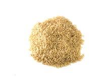 Απομονωμένο ρύζι στο άσπρο υπόβαθρο Στοκ φωτογραφία με δικαίωμα ελεύθερης χρήσης