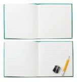 απομονωμένο σημειωματάρι& στοκ φωτογραφίες με δικαίωμα ελεύθερης χρήσης