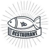 Απομονωμένο σχέδιο εικονιδίων θαλασσινών εστιατορίων λιχουδιές διανυσματική απεικόνιση