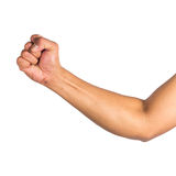 απομονωμένο χέρι αρσενικό Στοκ φωτογραφίες με δικαίωμα ελεύθερης χρήσης