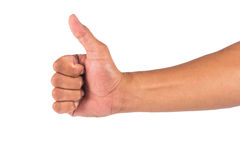 απομονωμένο χέρι αρσενικό Στοκ φωτογραφία με δικαίωμα ελεύθερης χρήσης