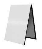 απομονωμένο χαρτόνι λευκ Στοκ Εικόνα