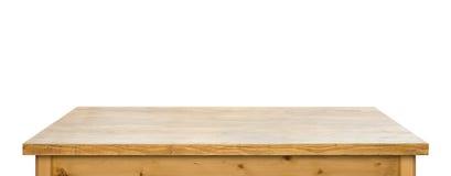 Απομονωμένο χρησιμοποιημένο tabletop Στοκ εικόνα με δικαίωμα ελεύθερης χρήσης