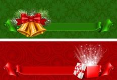 απομονωμένο Χριστούγεννα σύνολο εμβλημάτων Στοκ εικόνες με δικαίωμα ελεύθερης χρήσης