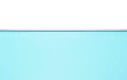 απομονωμένο ύδωρ επιπέδων Στοκ εικόνα με δικαίωμα ελεύθερης χρήσης