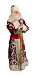 απομονωμένο Claus λευκό santa Στοκ Φωτογραφία