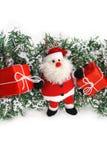 απομονωμένο Claus santa Στοκ Εικόνες