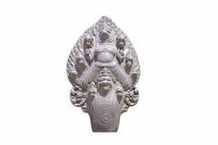 Απομονωμένο Garuda που περιβάλλεται Στοκ Εικόνες
