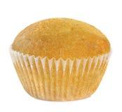 απομονωμένο muffin λευκό Στοκ Φωτογραφία