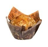 απομονωμένο muffin λευκό Στοκ εικόνες με δικαίωμα ελεύθερης χρήσης