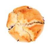 απομονωμένο muffin λευκό Στοκ φωτογραφίες με δικαίωμα ελεύθερης χρήσης