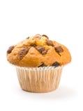 απομονωμένο muffin τσιπ σοκολάτα λευκό Στοκ φωτογραφία με δικαίωμα ελεύθερης χρήσης