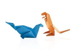 απομονωμένο origami Στοκ Εικόνες