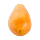 απομονωμένο papaya νωπών καρπών τροπικό λευκό Στοκ φωτογραφία με δικαίωμα ελεύθερης χρήσης