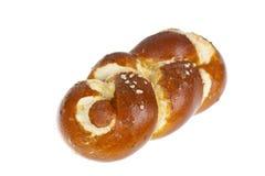 απομονωμένο pretzel λευκό Στοκ εικόνες με δικαίωμα ελεύθερης χρήσης