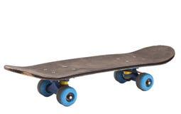 απομονωμένο skateboard λευκό Στοκ φωτογραφία με δικαίωμα ελεύθερης χρήσης