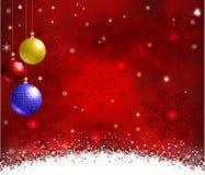 απομονωμένο snowflakes ανασκόπησης Χριστούγεννα λευκό Στοκ Εικόνα