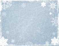 απομονωμένο snowflakes ανασκόπησης Χριστούγεννα λευκό Στοκ Εικόνες
