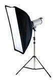 απομονωμένο softbox λευκό στού&n Στοκ φωτογραφίες με δικαίωμα ελεύθερης χρήσης