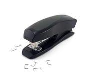 απομονωμένο stapler ανασκόπηση&sigm Στοκ Εικόνες