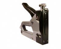 απομονωμένο stapler λευκό χάλυ& Στοκ εικόνες με δικαίωμα ελεύθερης χρήσης