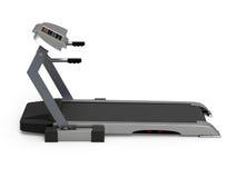 απομονωμένο treadmill ανασκόπηση&si Στοκ Εικόνες